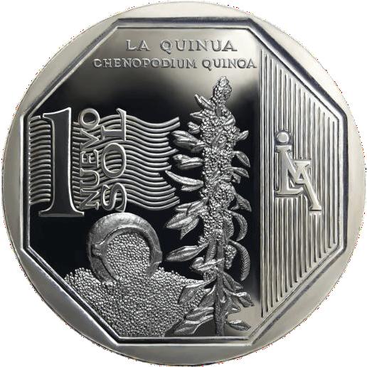 moneda de la quinua, recursos naturales del perú