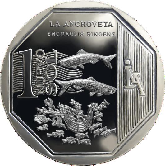 moneda de la anchoveta, recursos naturales del perú