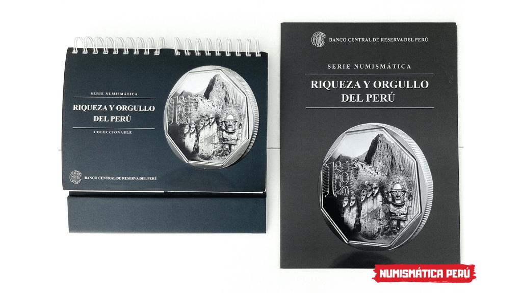 los álbumes oficiales de la serie riqueza y orgullo del perú