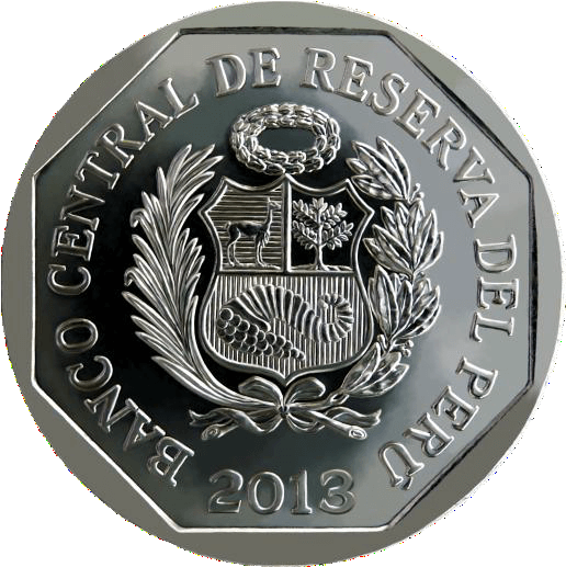 anverso monedas recursos naturales del perú