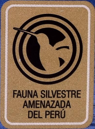 logo fauna silvestre amenazada del perú