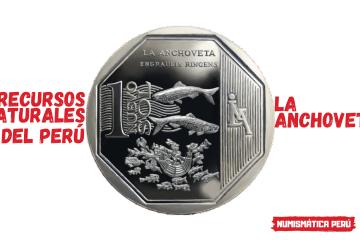 moneda alusiva a la anchoveta