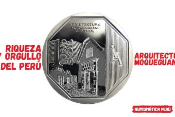 moneda arquitectura moqueguana
