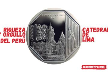 moneda alusiva a la catedral de lima