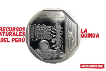 moneda alusiva a la quinua