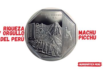 moneda alusiva a machu picchu