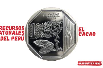 moneda alusiva al cacao