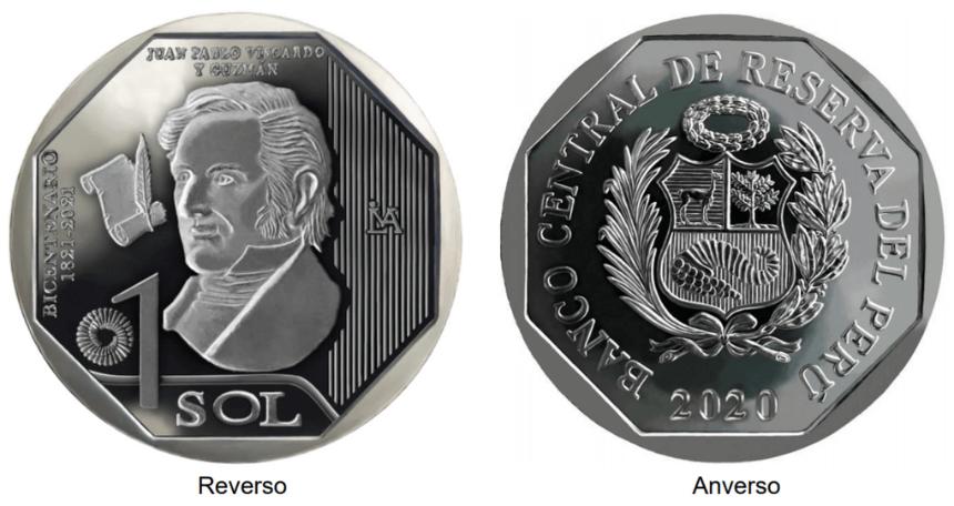 moneda alusiva a juan pablo viscardo y guzmán