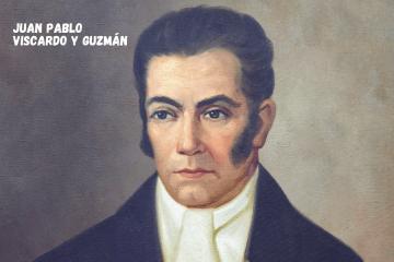 moneda de juan pablo viscardo y guzman, constructores de la republica bicentenario