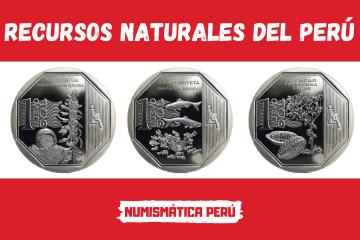 serie numismática recursos naturales del perú