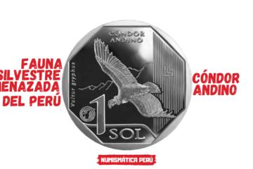moneda alusiva al cóndor andino