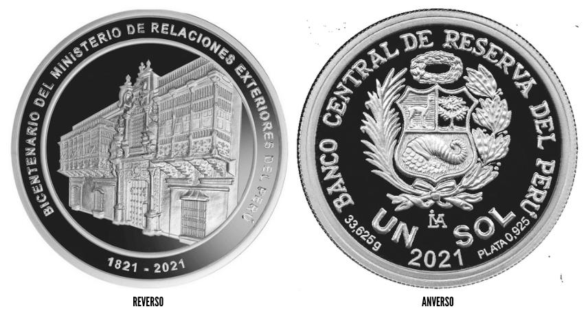 moneda bicentenario ministerio de relaciones exteriores del peru